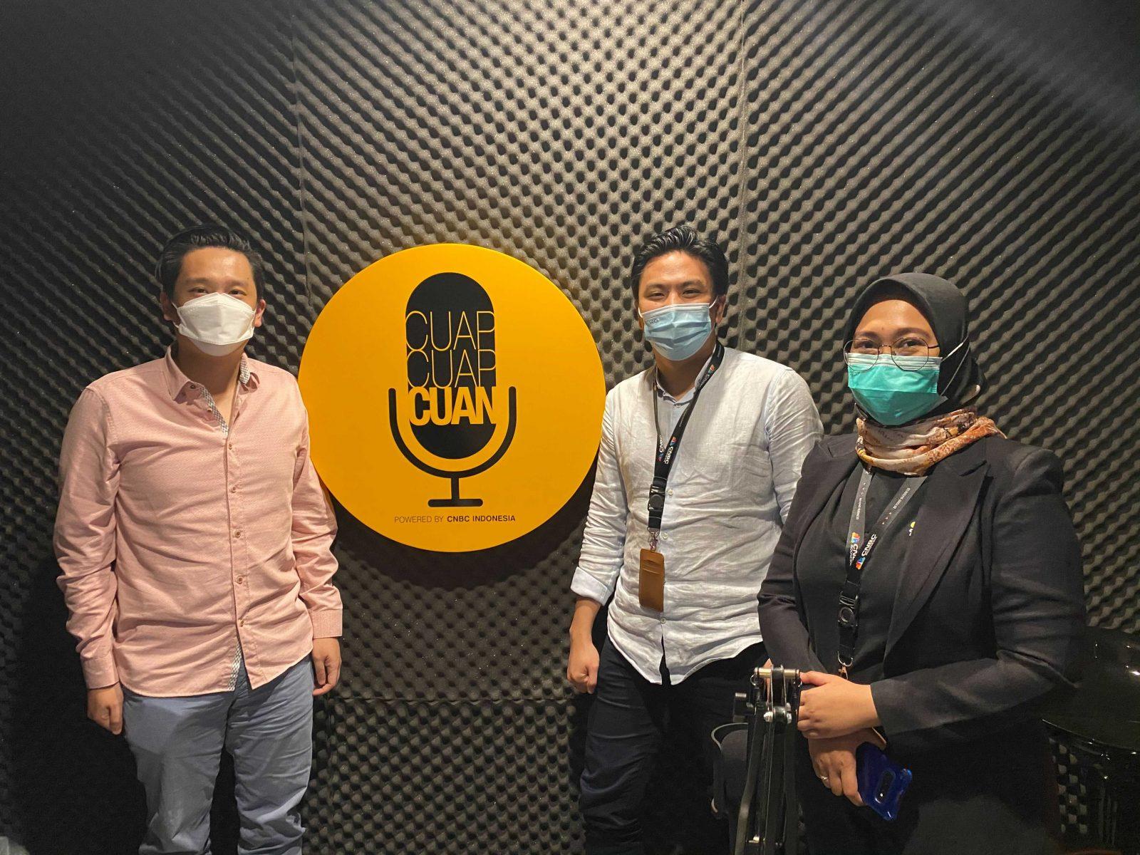 Tommy Martin Selaku Co-Founder dan COO Qoala Hadir di Podcast Cuap Cuap Cuan
