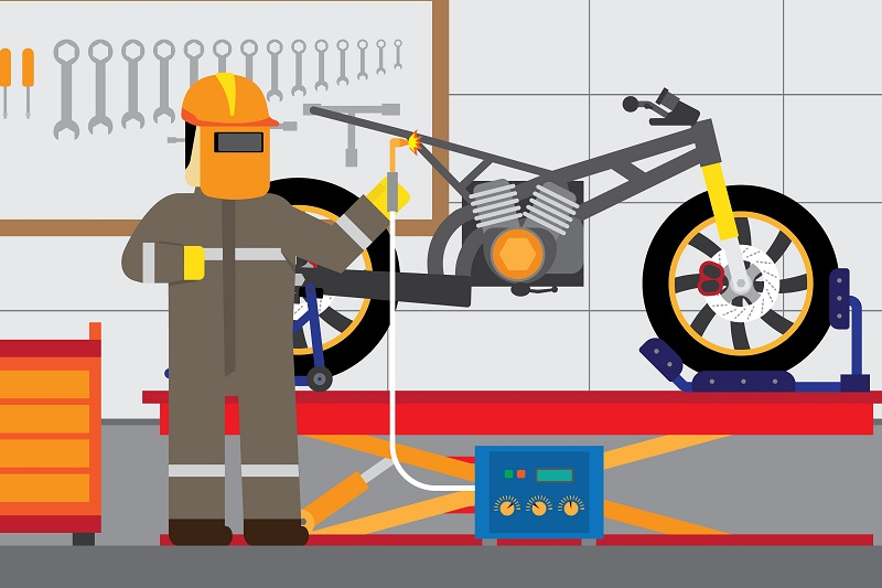 Cara Membersihkan Mesin Motor Terlengkap yang Bisa Kamu Coba
