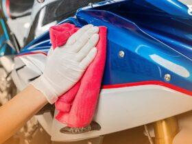 Cara Mengkilapkan Body Motor Kusam Seperti Baru