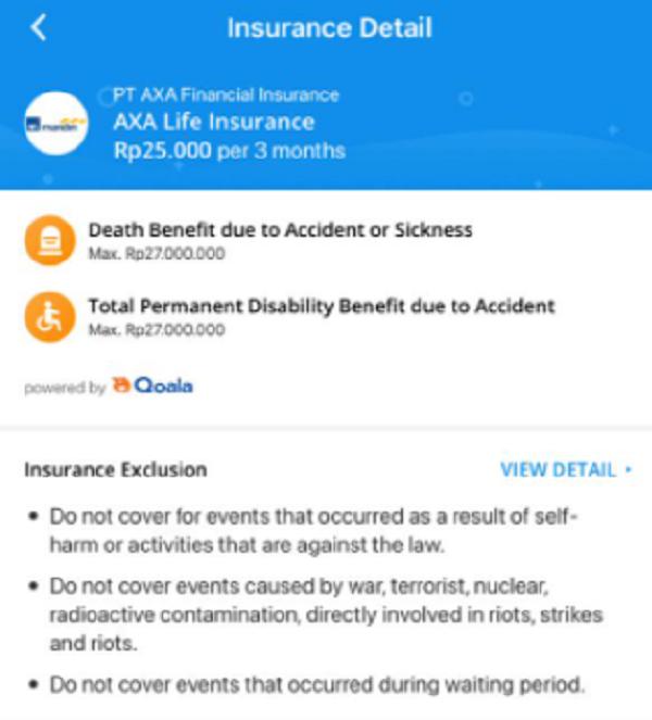 Produk AXA Life Insurance di Aplikasi DANA, Hasil Kerja Sama dengan Qoala