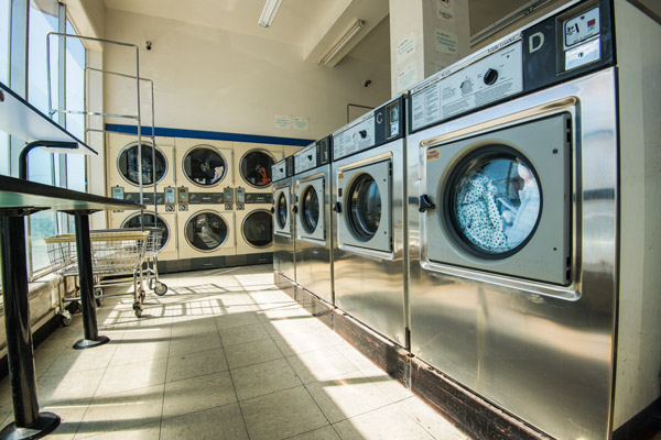 usaha laundry coin