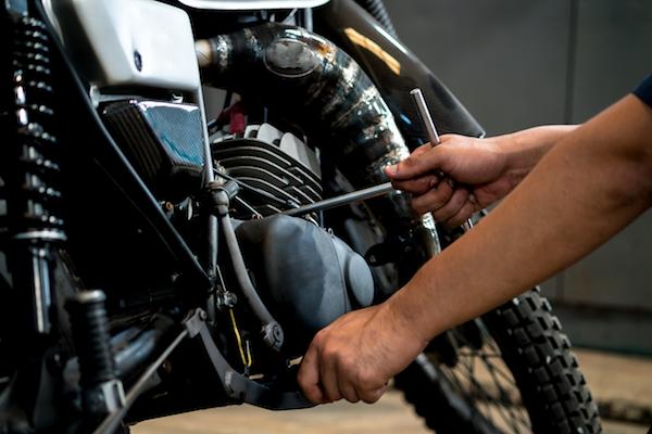 cara memperbaiki kiprok motor yang rusak