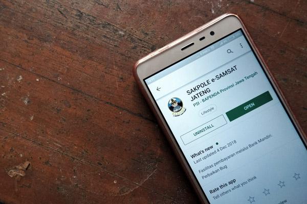 aplikasi tentang pajak kendaraan online